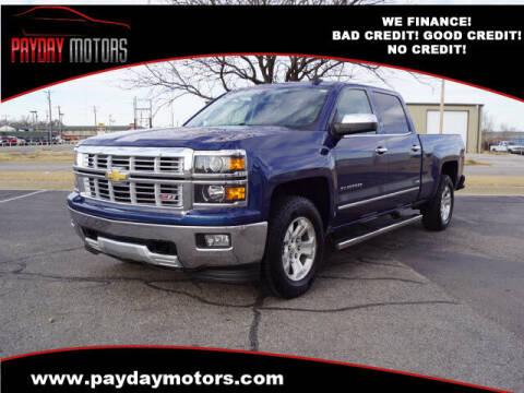 2015 Chevrolet Silverado 1500 for sale at Payday Motors in Wichita KS