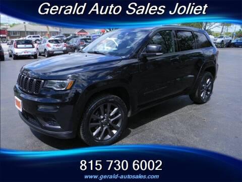 2018 Jeep Grand Cherokee for sale at Gerald Auto Sales in Joliet IL