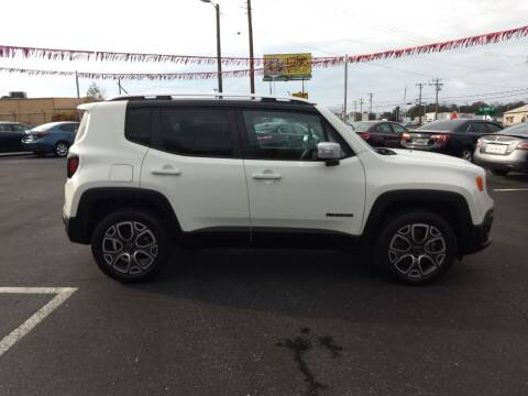 2015 Jeep Renegade for sale at Kenny's Auto Sales Inc. in Lowell NC
