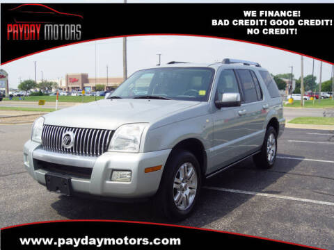 2006 Mercury Mountaineer for sale at Payday Motors in Wichita KS