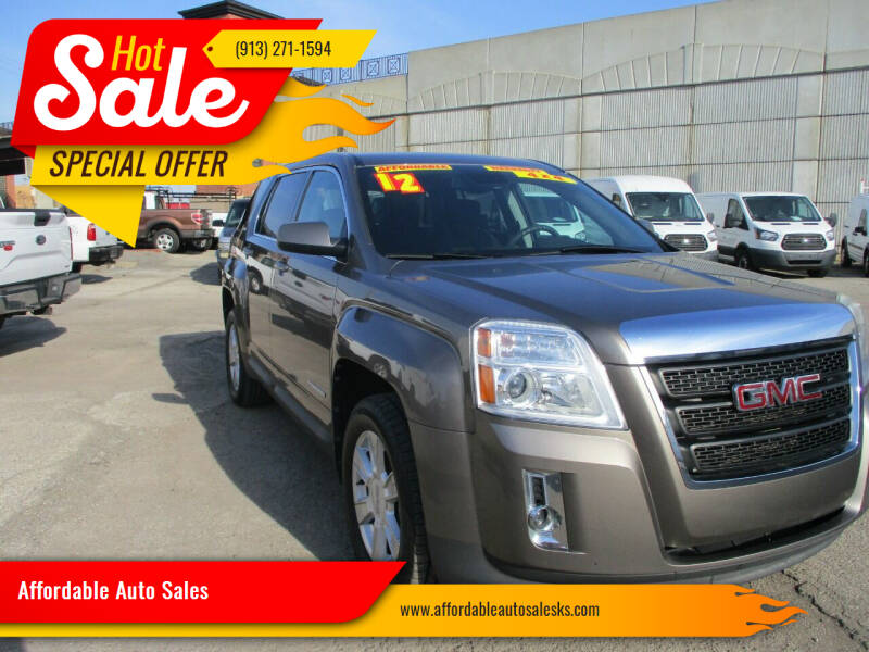 2012 GMC Terrain for sale at Affordable Auto Sales in Olathe KS