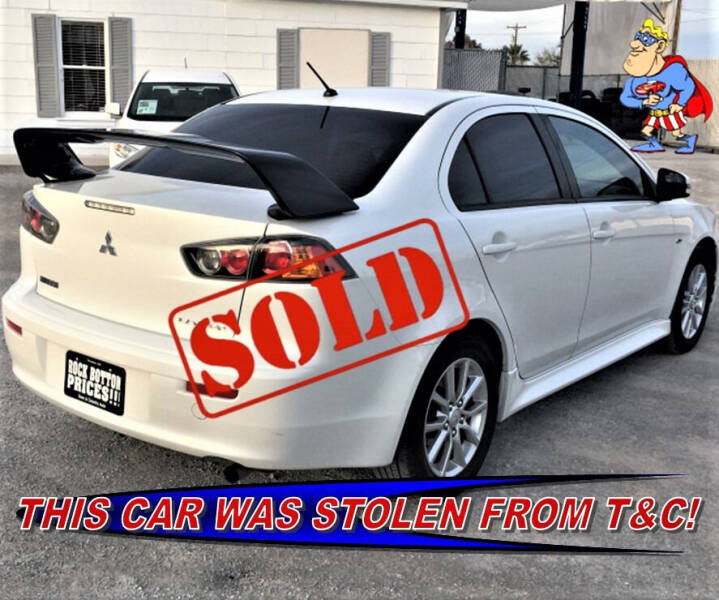 2016 Mitsubishi Lancer for sale at TOWN & COUNTRY AUTO SALES in Overton NV