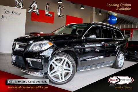 2016 Mercedes-Benz GL-Class for sale at Quality Auto Center of Springfield in Springfield NJ