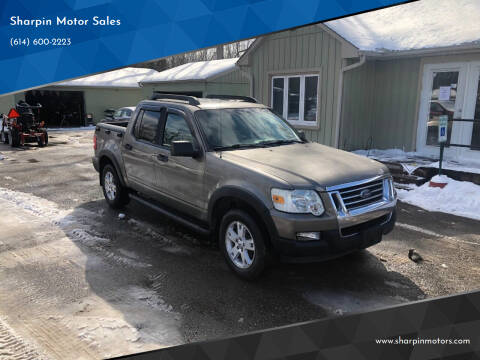 2007 Ford Explorer Sport Trac for sale at Sharpin Motor Sales in Columbus OH