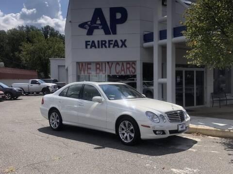 2009 Mercedes-Benz E-Class for sale at AP Fairfax in Fairfax VA