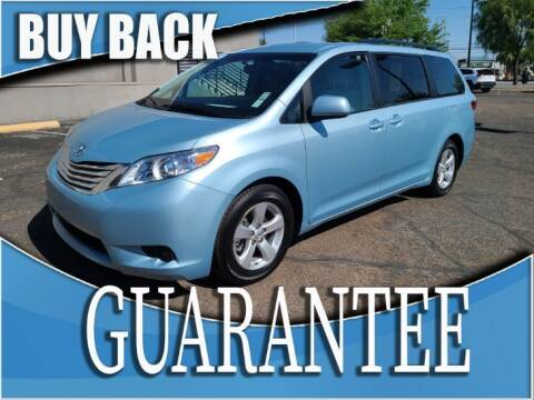 2017 Toyota Sienna for sale at Reliable Auto Sales in Las Vegas NV