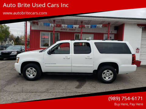 2007 Chevrolet Suburban for sale at Auto Brite Used Cars Inc in Saginaw MI