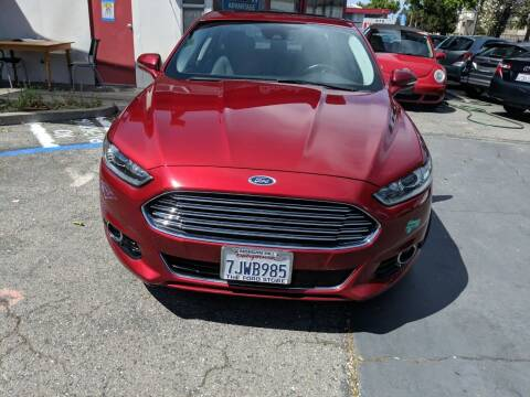 2015 Ford Fusion Energi for sale at Auto City in Redwood City CA