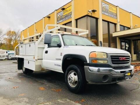 2006 GMC Sierra 3500 for sale at Royal Motors Inc in Kent WA