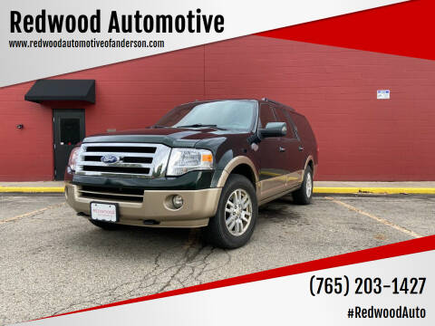 2012 Ford Expedition EL for sale at Redwood Automotive in Anderson IN