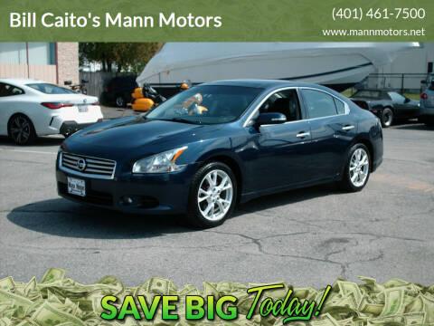 2012 Nissan Maxima for sale at Bill Caito's Mann Motors in Warwick RI