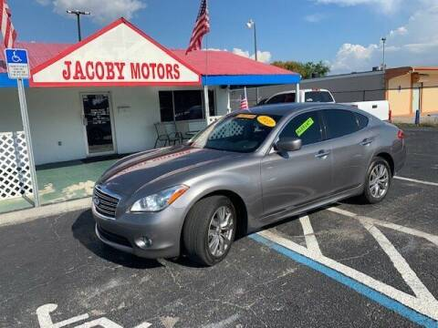 2012 Infiniti M37 for sale at Jacoby Motors in Fort Myers FL
