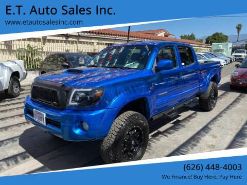 2007 Toyota Tacoma for sale at E.T. Auto Sales Inc. in El Monte CA