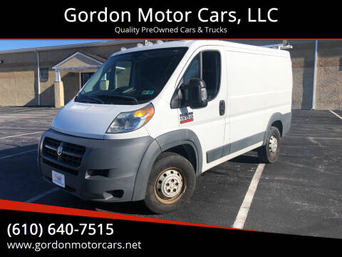2015 RAM ProMaster Cargo for sale at Gordon Motor Cars, LLC in Frazer PA