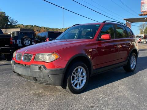 2005 BMW X3 for sale at Luxury Auto Innovations in Flowery Branch GA