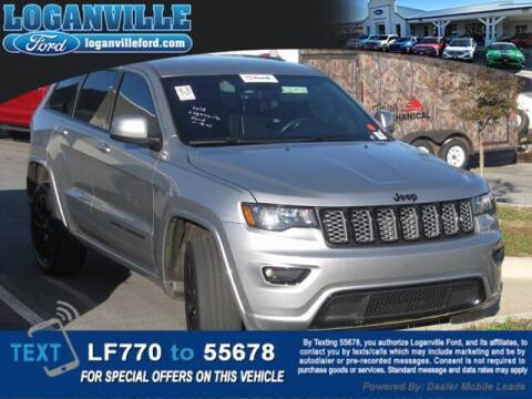 2017 Jeep Grand Cherokee for sale at Loganville Quick Lane and Tire Center in Loganville GA