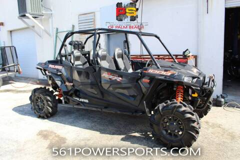 2018 Polaris RZR XP 4 1000 EPS High Lifter  for sale at Powersports of Palm Beach in Hollywood FL