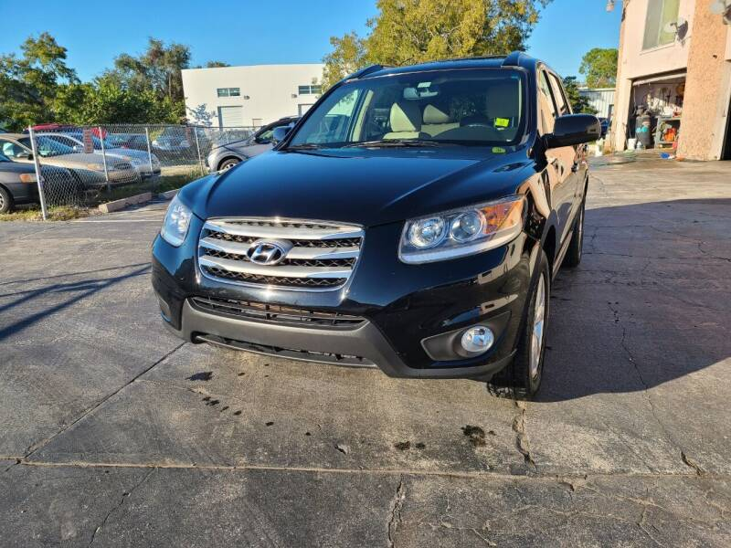 2012 Hyundai Santa Fe for sale at CAR-RIGHT AUTO SALES INC in Naples FL