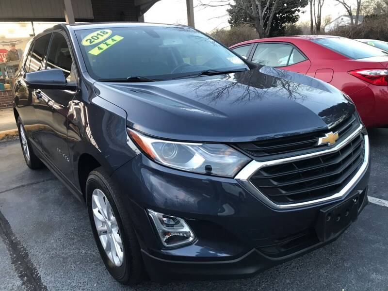 2018 Chevrolet Equinox for sale at Scotty's Auto Sales, Inc. in Elkin NC
