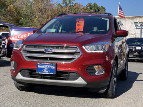 2017 Ford Escape for sale at Westchester Automotive in Scarsdale NY