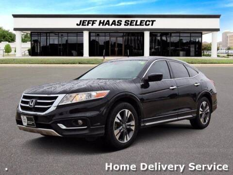 2013 Honda Crosstour for sale at JEFF HAAS MAZDA in Houston TX