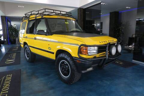 1997 Land Rover Discovery for sale at OC Autosource in Costa Mesa CA
