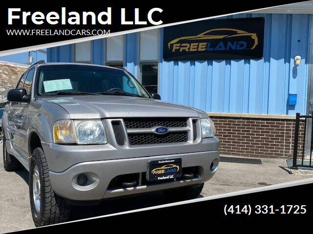 2005 Ford Explorer Sport Trac for sale at Freeland LLC in Waukesha WI