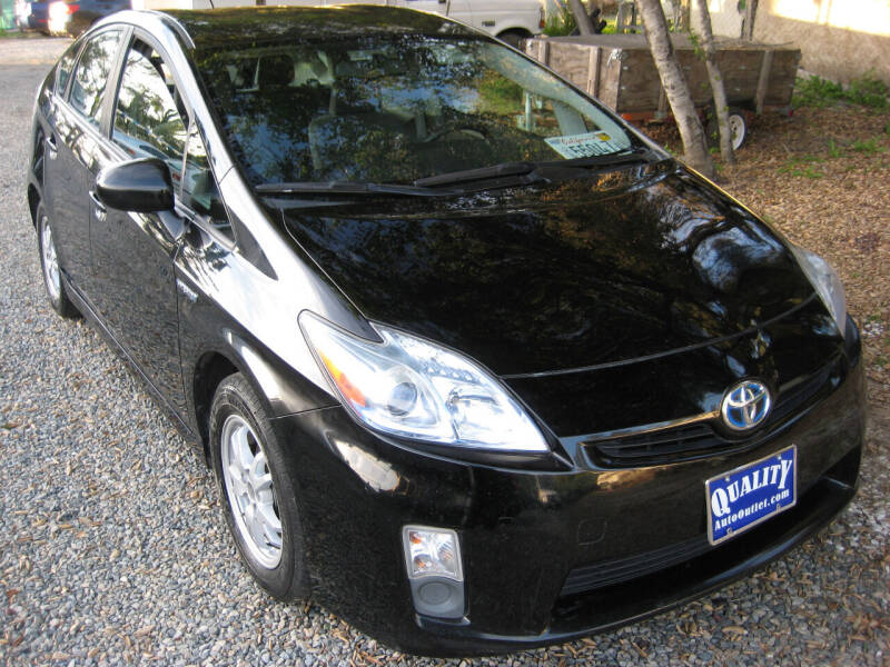 2010 Toyota Prius for sale at Quality Auto Outlet in Vista CA