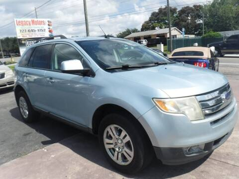 2008 Ford Edge for sale at LEGACY MOTORS INC in New Port Richey FL
