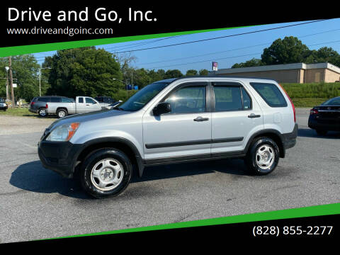 2003 Honda CR-V for sale at Drive and Go, Inc. in Hickory NC