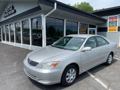 2002 Toyota Camry for sale at Prestige Pre - Owned Motors in New Windsor NY