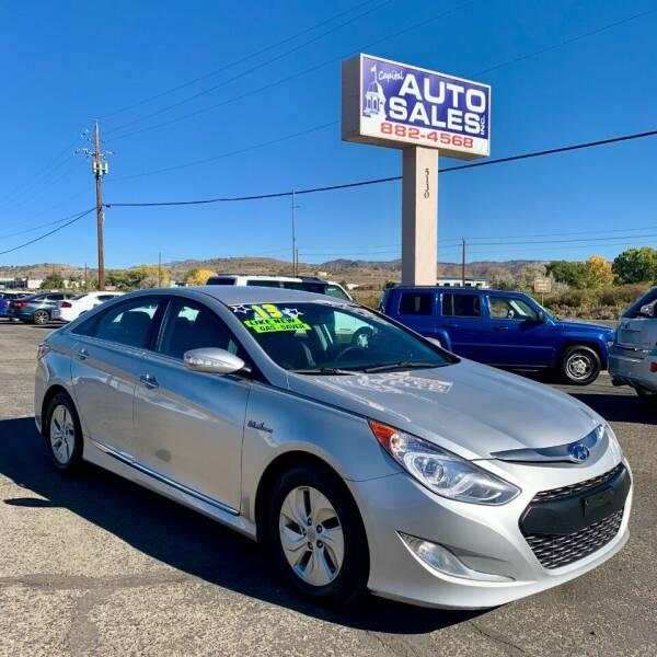 2013 Hyundai Sonata Hybrid for sale at Capital Auto Sales in Carson City NV