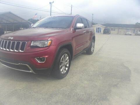 2015 Jeep Grand Cherokee for sale at VANN'S AUTO MART in Jesup GA