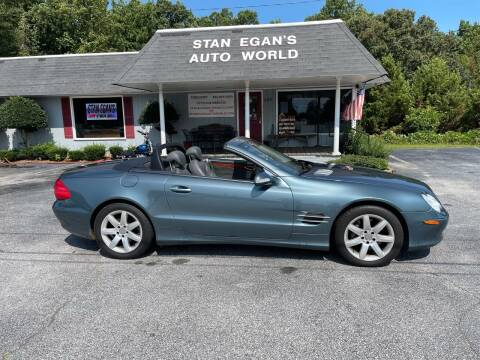 2003 Mercedes-Benz SL-Class for sale at STAN EGAN'S AUTO WORLD, INC. in Greer SC