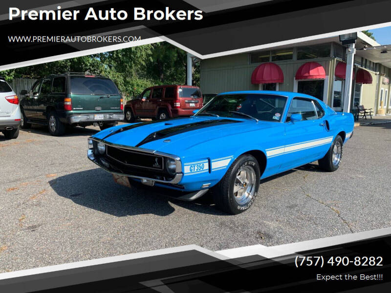 1970 Ford Shelby GT350 for sale in Virginia Beach, VA