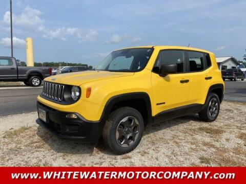 2016 Jeep Renegade for sale at WHITEWATER MOTOR CO in Milan IN