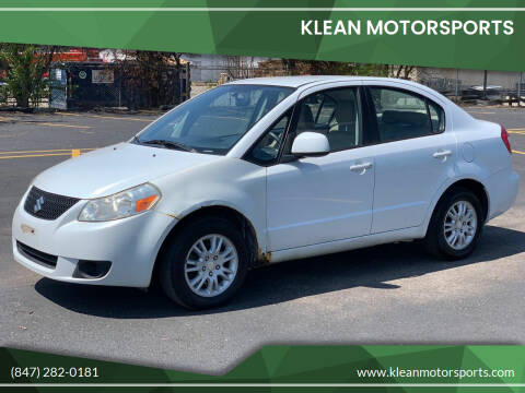 2012 Suzuki SX4 for sale at Klean Motorsports in Skokie IL