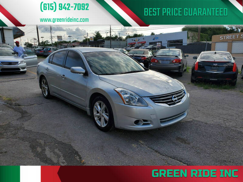 2010 Nissan Altima for sale at Green Ride Inc in Nashville TN