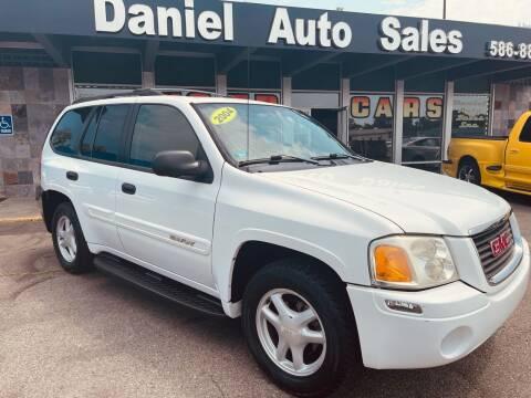 2004 GMC Envoy for sale at Daniel Auto Sales inc in Clinton Township MI
