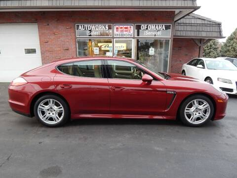 2011 Porsche Panamera for sale at AUTOWORKS OF OMAHA INC in Omaha NE
