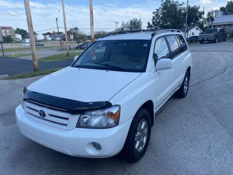 2007 Toyota Highlander for sale at Auto Hub in Grandview MO