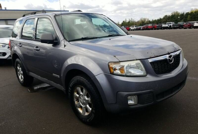 2008 Mazda Tribute for sale at Angelo's Auto Sales in Lowellville OH