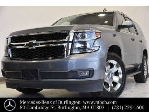 2018 Chevrolet Tahoe for sale at Mercedes Benz of Burlington in Burlington MA