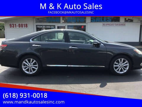 2011 Lexus ES 350 for sale at M & K Auto Sales in Granite City IL