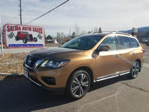 2017 Nissan Pathfinder for sale at Salida Auto Sales in Salida CO