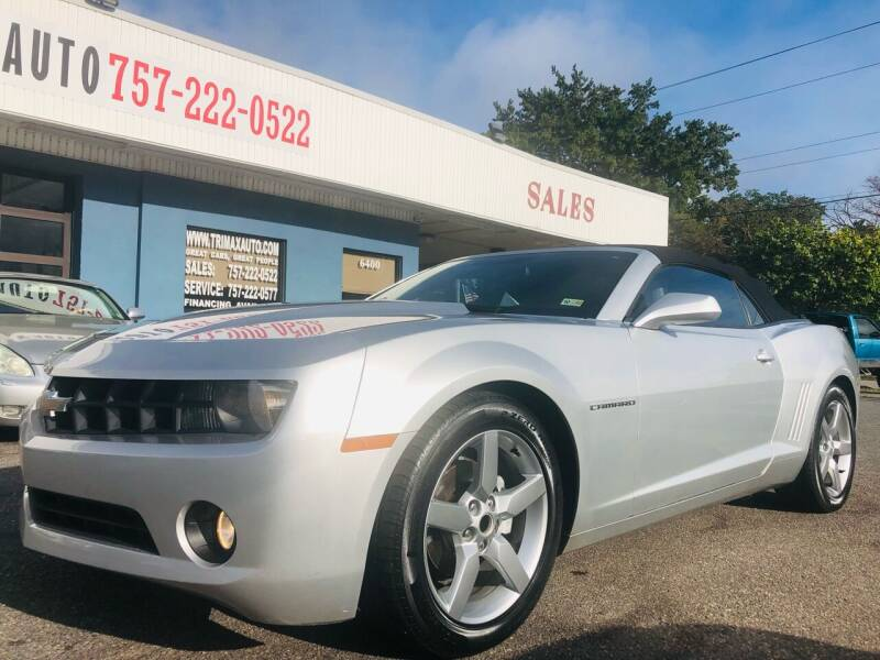 2012 Chevrolet Camaro for sale at Trimax Auto Group in Norfolk VA