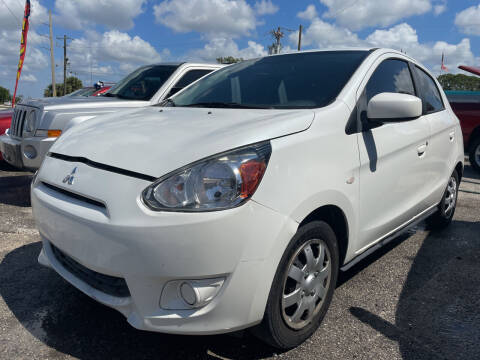2015 Mitsubishi Mirage for sale at EXECUTIVE CAR SALES LLC in North Fort Myers FL