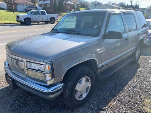 1998 Chevrolet Tahoe for sale at Trocci's Auto Sales in West Pittsburg PA