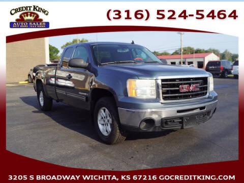 2009 GMC Sierra 1500 for sale at Credit King Auto Sales in Wichita KS