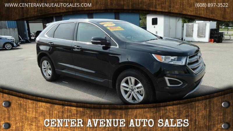 2016 Ford Edge for sale at CENTER AVENUE AUTO SALES in Brodhead WI